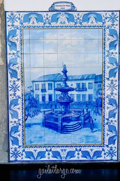 Ovar Railway Station, Portugal (5) Ovar Railway Station Azulejos  Posted on March 23, 2015 by Gail at Large