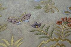 留袖用帯、正倉院花鳥合文