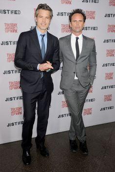 Justified' Season 5 Red Carpet Premiere