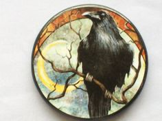 What Is A Pagan Wiccan | MYSTERIOUS RAVEN Talisman Amulet Wicca by EclecticEnchantments