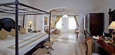 Guestroom of the Luxury Bahia Principe Cayo Levantado (All Inclusive) Samana Province, Dominican Republic Samana, All Inclusive Trips, Beach Properties, Beach Villa, Island Resort, Oh The Places You'll Go, Hotels And Resorts, Vacation Trips, Guest Room