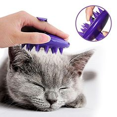 Soft Silicone Pins Celemoon Ultra Washable Cat Grooming Shedding Mage
