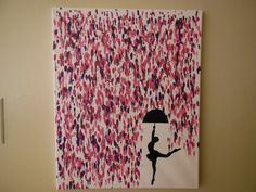 Crayon Art! Melted Crayon with ballerina silhouette. Now available to purchase online!