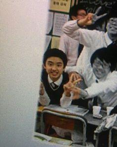 Awww he was and still is so cute ✨❤️😍 Kyungsoo, Kaisoo, Exo Chanyeol, Cute Funny Pics, I Go Crazy, Exo Korean, Do Kyung Soo, Exo Memes, Korean Artist