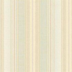Green Harpina Stripe Wallpaper, SBK26900