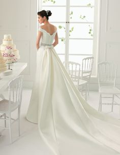 ARGELIA - Robe de mariée AIRE BY ROSA CLARA 2017