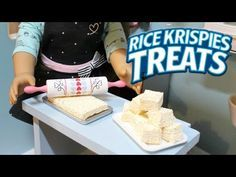 DIY American Girl Doll Rice Krispies Treats - YouTube