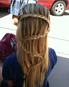 WHAT! Chinese staircase braid!?!