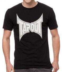 New+Hot+TAPOUT+Vintage+Black+T-Shirt