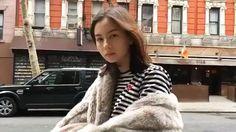 Ulzzang, Illustrator, Winter Hats, Portraits, Icons, Asian, Model, Head Shots, Ikon