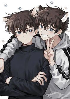 ~Hw cute for you ~Tag your friend/girl ------- -Hw much you love Anime- ------- ∆ ∆ ∆ ∆ ∆ Hot Anime Boy, Anime Cat Boy, Dark Anime Guys, Cool Anime Guys, Anime Child, Manga Boy, Anime Boys, Anime Boy Drawing, Cute Anime Cat