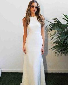Sarah Seven Fall 2017 Wedding Dress Collection   Martha Stewart Weddings – Sleeveless mermaid  wedding dress