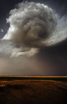 Nebraska Swirl, Developing Tornado by Douglas Berry