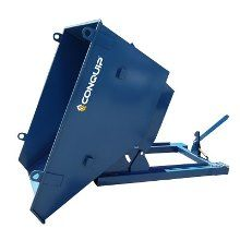Hire a Tipping Skip #attachment with your #Hewden #Telehandler