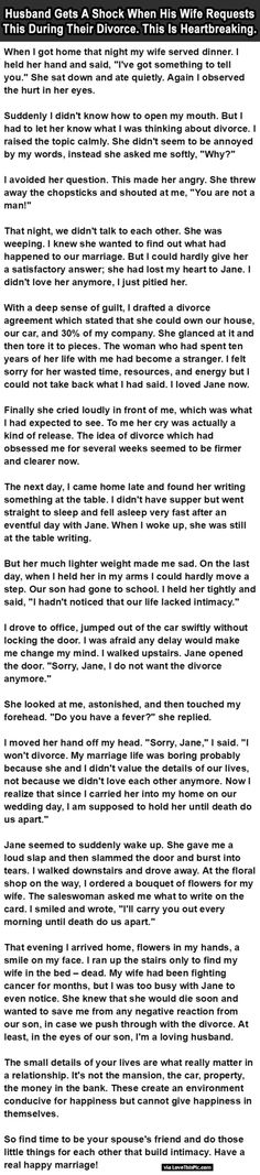 This story is beautiful and tragic...