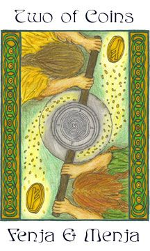Northern Tradition Paganism: The Giants' Tarot - Coins