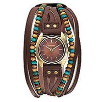 £36.00 Kahuna Ladies #Beaded #Strap #Watch, #fashion #accessories www.highstreetfashion.co