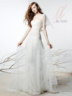 Robe de Mariée ROMANTICO collection Ir de Bundò | Just Married France