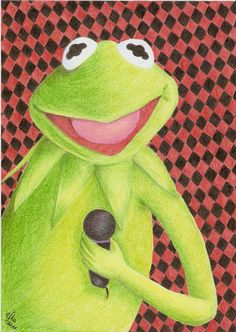 Kermit Frog by efffkaK.deviantart.com