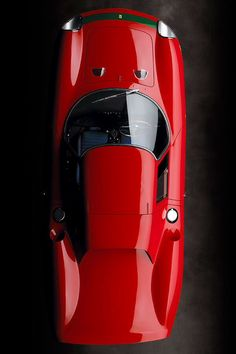 """1964 FERRARI 250 LM (RALPH LAUREN'S VINTAGE CARS) Painstakingly built by the artisans at Carrozzeria Scaglietti, the 250 LM is one of the finest original examples of Ferrari's first mid-engine models. Between 1965 and 1968, Lauren's vehicle—chassis 6321, or no. 31—won 13 of 19 Australian racing events, including the Surfers Paradise 12 hours in 1966, codriven by Andy Buchanan and a young driver just beginning a brilliant career, Jackie """"The Flying Scot"""" Stewart. (via Architectural Digest)"""
