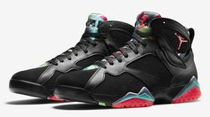 air jordan 7, retro 7, marvin the martian, barcelona nights, 304775-029, jordan august release dates, jordans for sale,