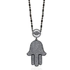M.K. Diamonds & Jewelry hamsa pendant
