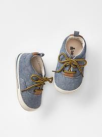 Chambray sneakers $24.95 @ 40% off, $14.97