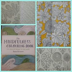The mindfulness colouring book by Emma Farrarons.  Just bought this from Dymocks on 13/6/15. Beautiful illustrations. The pages are thick so they don't seep through.   A book of colouring in pages. Anti stress art therapy for busy people.