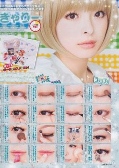 Tutorial - Feminine Hanbok Makeup by Heizle Asian Makeup Prom, Asian Makeup Looks, Lolita Makeup, Gyaru Makeup, Asian Make Up, Korean Make Up, Makeup Inspo, Makeup Inspiration, Makeup Ideas