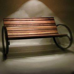 Shiner Pant Rocking Bench