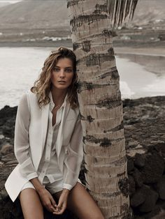 Daria Werbowy for Mango S/S 2014