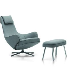 Antonio Citterio Repos with Panchina With the Repos lounge chair, Vitra and Antonio Citterio bring a new quality of comfort and motion to the world of living. Its generous padding, inviting armrests,