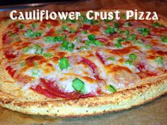 Boots Up Y'all : Cauliflower Crust Pizza - South Beach Day Four