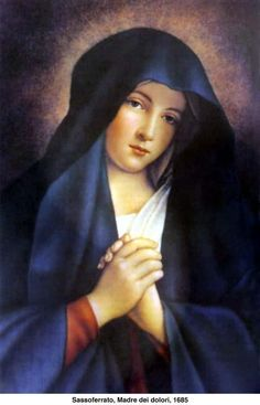 Sassoferrati, Madre del Dolori, 1685
