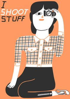 I Shoot Stuff #illustration