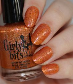 Girly Bits Let's Do This! A 3rd blog anniversary polish created for The Jedi Wife www.girlybitscosmetics.com