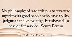 Sonny Perdue Quotes About Knowledge - 39269