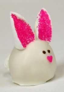 Bunny Cake Balls by Miss CandiQuik