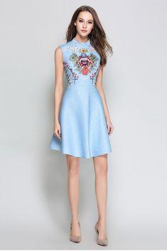 VINTAGE SKY Sukienka wizytowa Best Sellers, High Neck Dress, Sky, Vintage, Dresses, Fashion, Turtleneck Dress, Heaven, Vestidos