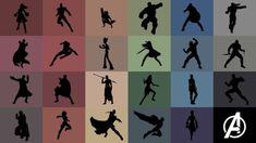 Avengers: Infinity War - Rainbow Wallpaper by ravenoth-the-brave