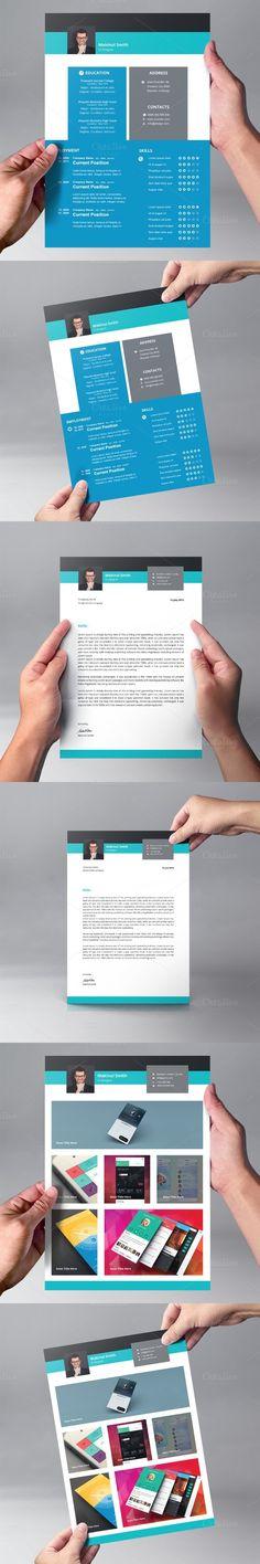 Resume Template Word Modern Clean CV | Resume Templates | Pinterest ...