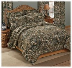 Camo Bed Sets | Realtree Max 4 Camo EZ Bed Set   Cal King | House Ideas |  Pinterest | Camo Bedding, Bedding Sets And Bed Sets