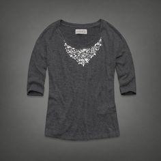 Womens Payton Shine Top | Womens Fashion Tops | Abercrombie.com