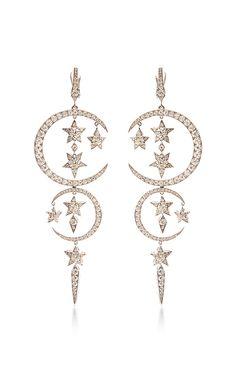 White Diamond Caspian Sea Earrings by Stephen Webster