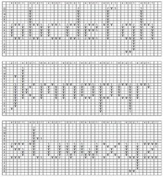 Use These Handy Alphabet Charts for Knitting Words or ...