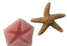 Starfish Soft Silicone Mold for Fondant Polymer Clay by LaurelArts