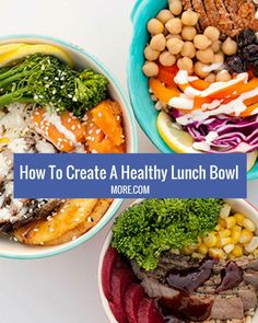 These colorful and nutritious meals are all the rage. Get these amazing recipes for healthy bowls you can make for any meal.