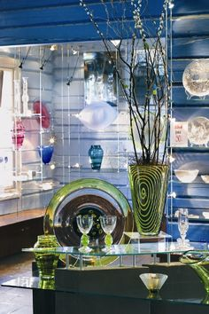 Hadeland Glassworks Norway, July I bought a beautiful blue angel here.