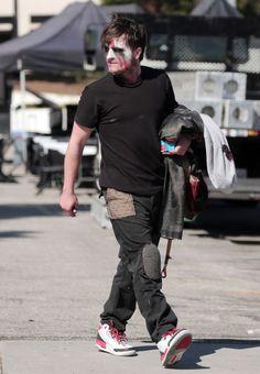 Feb, 25 - Josh Hutcherson does his own wire stunts as he joins co-star Kiersey…