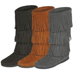 Just got these in the brown!  Cannot wait to wear them!  They are so comfortable and are just the boot for cooler weather.